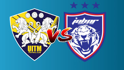 Live Streaming UITM FC vs JDT Piala Malaysia 17.9.2019