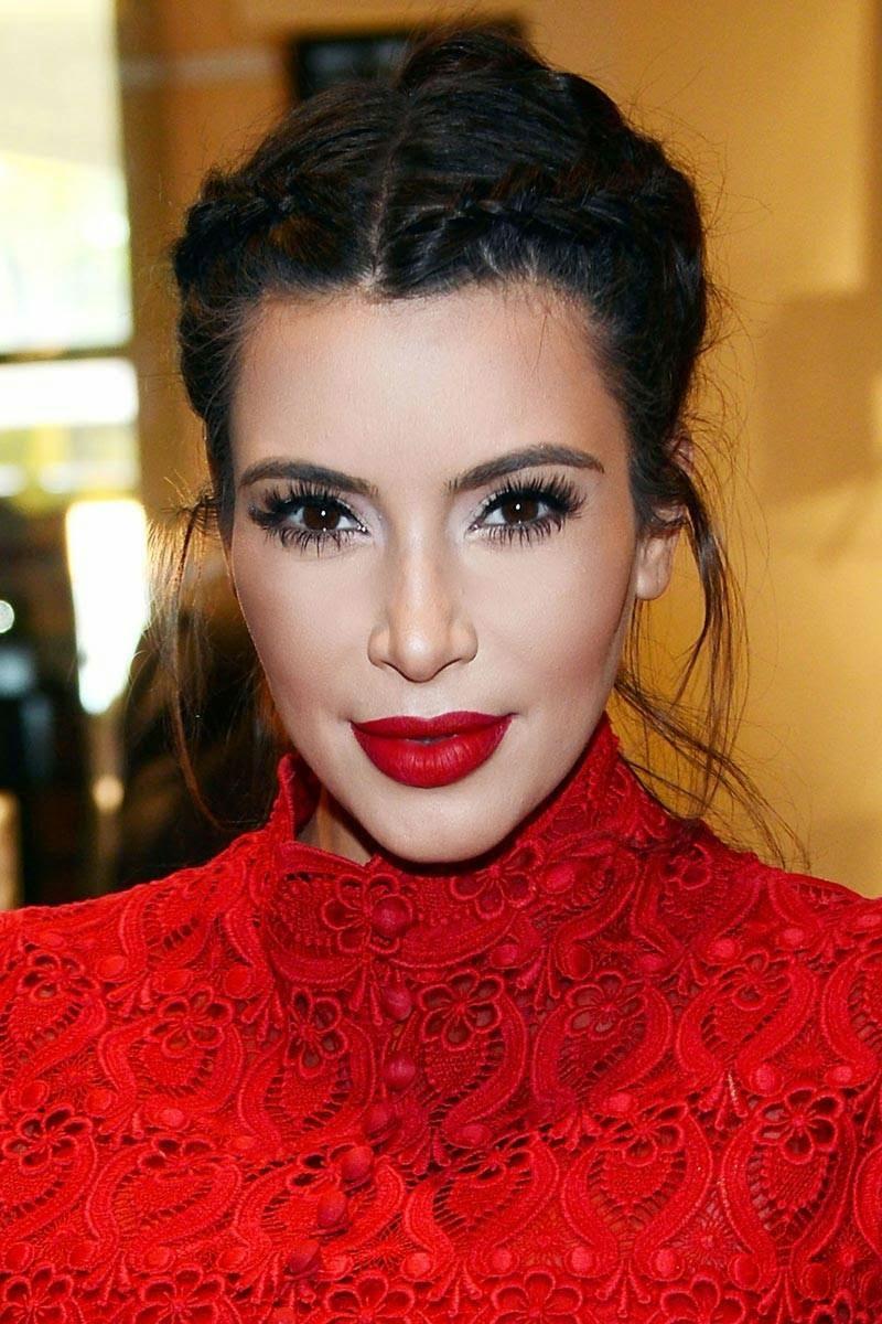 10 Bellesalud 14 Peinados De Gala De Kim Kardashian Peinado Paso A