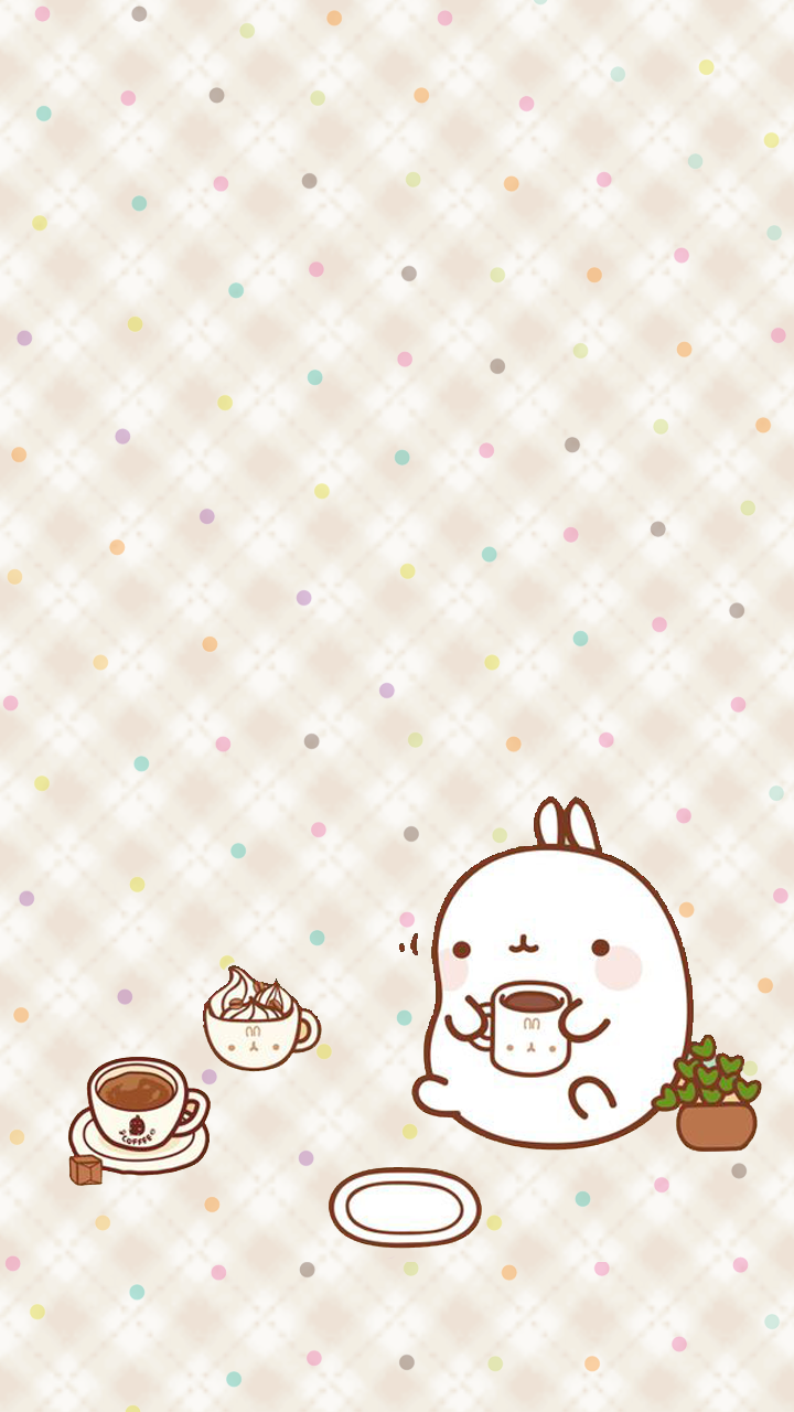 Hello Fall Iphone Wallpaper Love Pink Molang Wallpapers Freebie