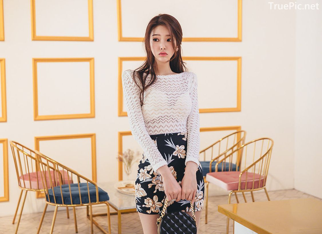 Park Jung Yoon - Korean Fashion Model - Casual Indoor Photoshoot - TruePic.net - Picture 9