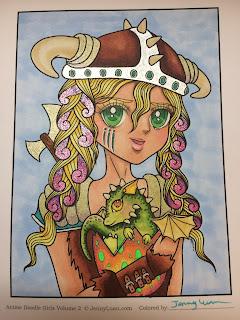anime doodle girl volume 2