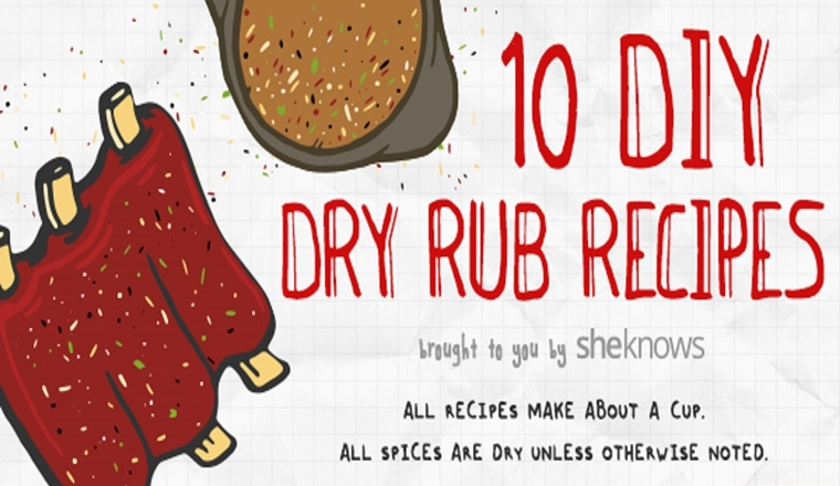 10 Dry Rub Recipes That'll Truly Up Your BBQ Game #infographic