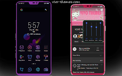 Dark UI Theme For Vivo