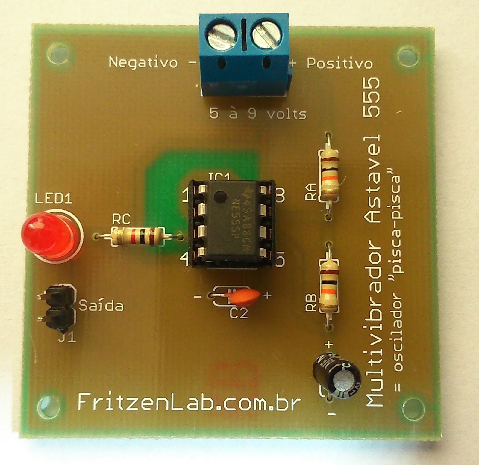 Circuito Oscilador 555 : Circuito led intermitente con by jorge lópez armas on prezi