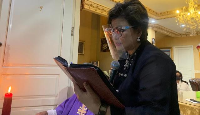 Kenang Ibunda Terkasih, Senator Maya Rumantir Gelar Misa Syukur