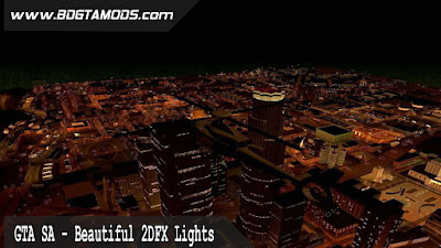 GTA SA - Beautiful 2DFX Lights