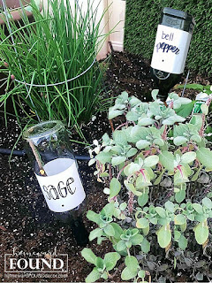 DIY, garden, outdoors, re-purposing, seasonal, spring, summer, tomato cage crafts, up-cycling, trash to treasure, garden art, victory garden, spring garden, plant markers, wine bottle crafts
