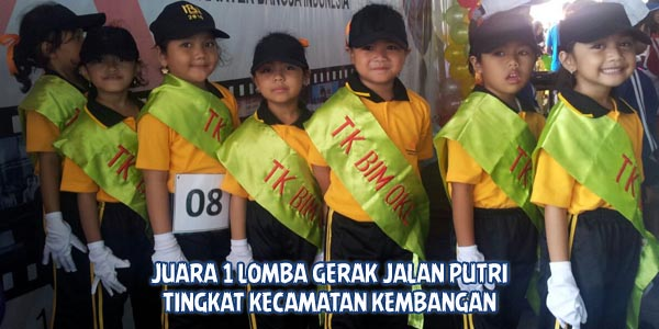 juara 1 lomba gerak jalan putri tingkat kecamatan kembangan