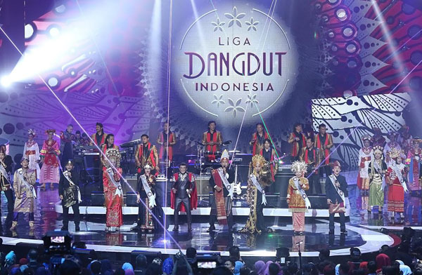 Pembagian Grup Liga Dangdut Indonesia