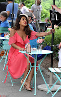 Priyanka Chopra in a Deep neck Red Gown on the Set of Isnt It Romantic ~  Exclusive Celebrities Galleries 006.jpg