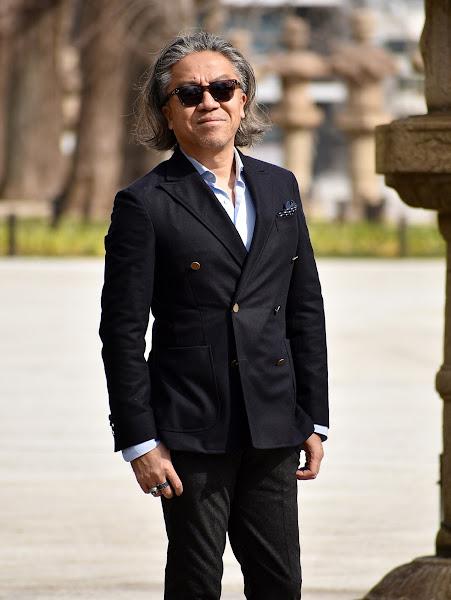 スーツ・テーラード ジャケットの袖のシワ