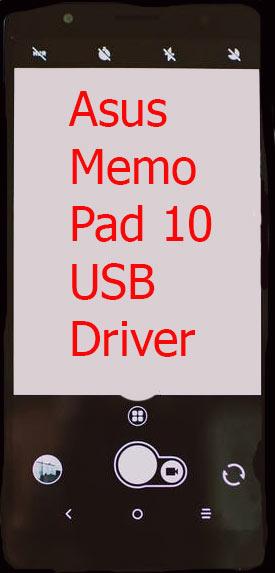 Asus Memo Pad 10 USB Driver