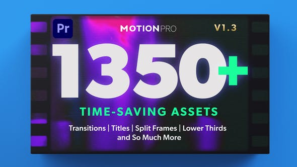 Motion Pro | All-In-One Premiere Kit V1.3[Videohive][MOGRT][26504964]