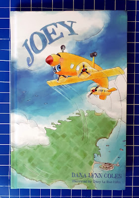 Joey by Dana Lynn Coles guernsey plane story book review cover photo