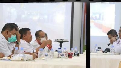 Bupati Simalungun-Kemenko Marvest Bahas Percepatan Pembangunan Danau Toba