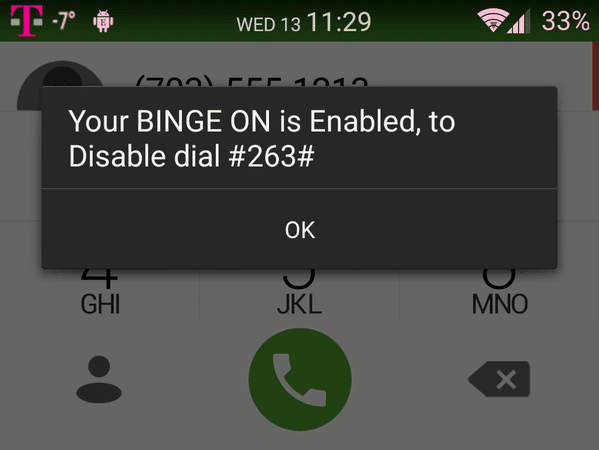 Updated - Not Working: Enable and Disable T-Mobile's Binge On With
