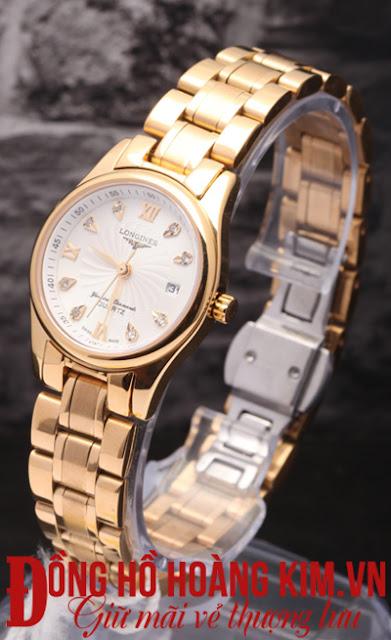 Đồng hồ nữ longines dây inox giá rẻ dưới 2 triệu tại Hà Nội