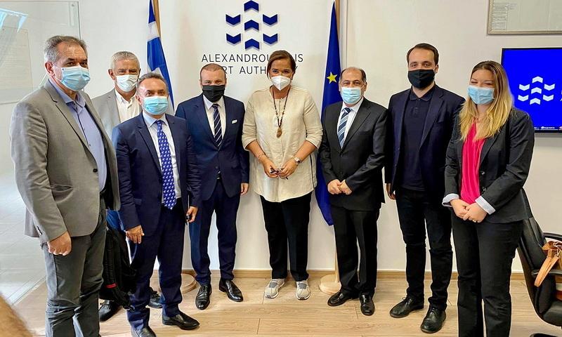 Στην Αλεξανδρούπολη η Πρόεδρος και μέλη της Διακομματικής Επιτροπής για τη Θράκη