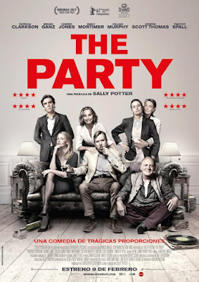 The Party 2017 DVD R2 PAL Spanish