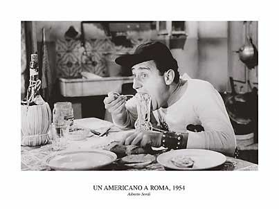 In one of the most famous scenes in postwar italian cinema nando moriconi albert sordi a roman infatuated with everything american sits down to what he