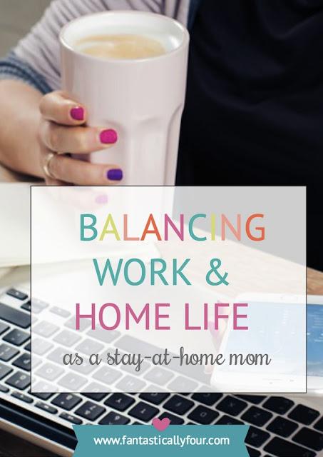 work and life balance as a SAHM