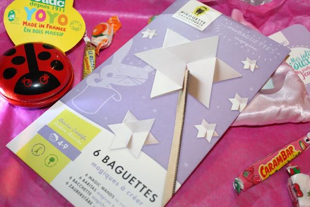 activité pour enfant sur let thème des baguettes magiques
