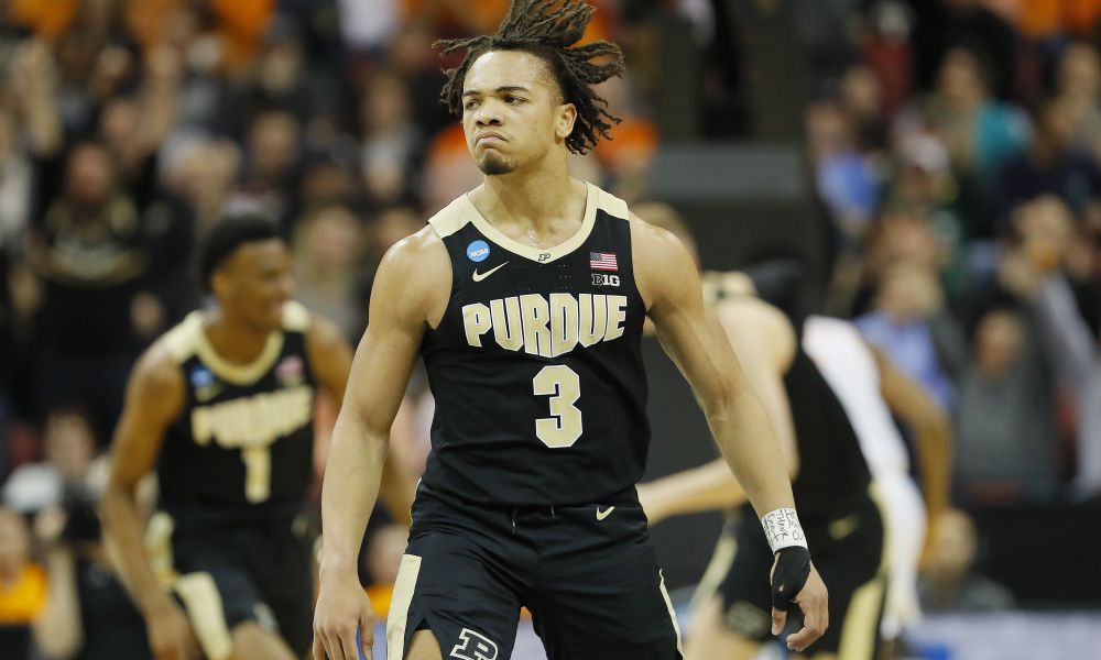 Cs Take The Little Guy Carsen Edwards Of Purdue With The 33rd