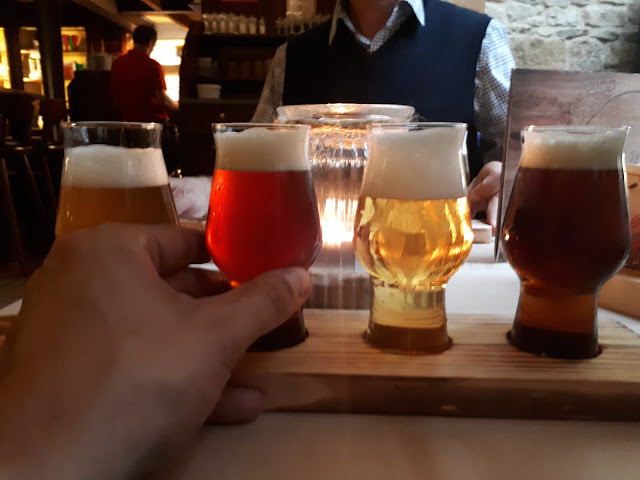 Beer tasting in the heart of Detmold