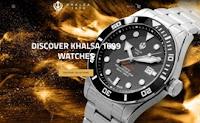 Khalsa 1699 Watch Speedster (2nd Gen) | Best Luxury Watch For Men