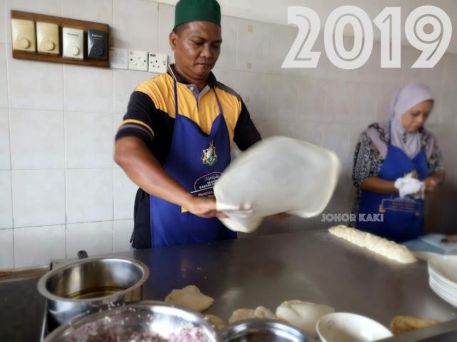 Roti Canai / Pata Stall @ Kheng Guan Hiong Kopitiam in Pontian