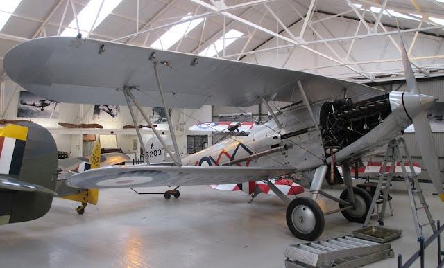 1/144 Shuttleworth diecast metal aircraft miniature Hawker Demon