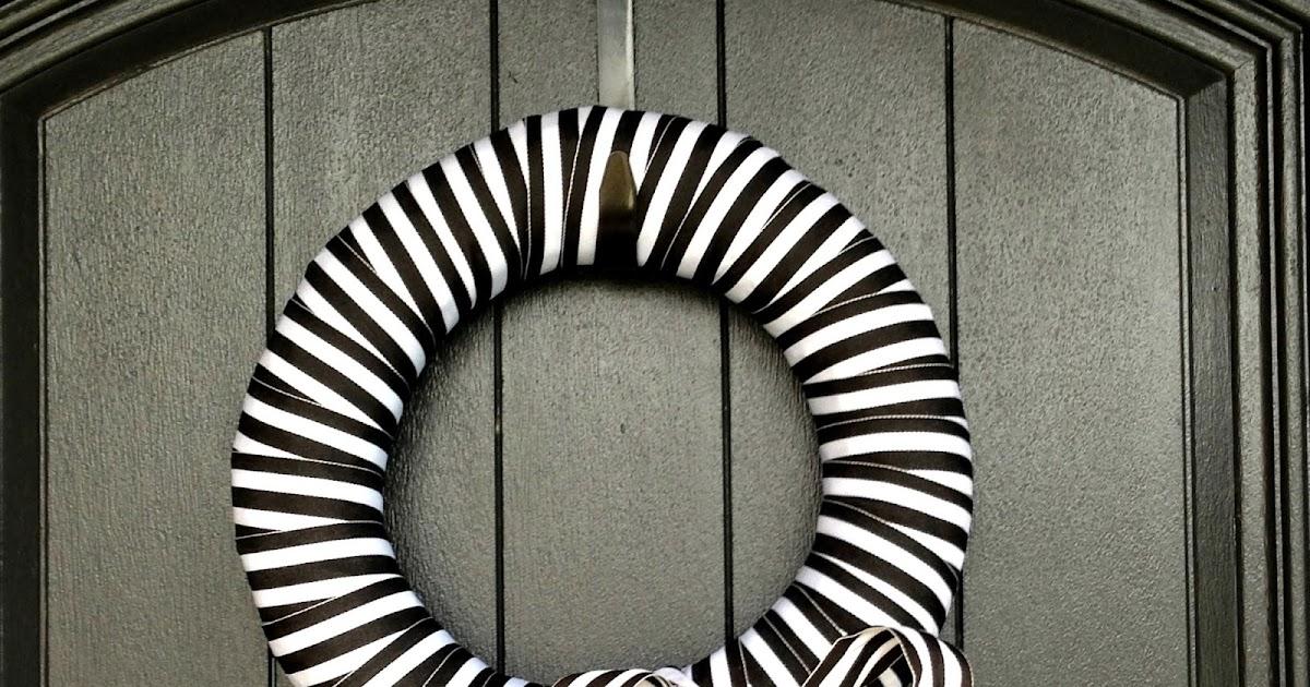 Life Love Larson Five Minute Diy Ribbon Wreath
