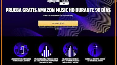 Prueba gratis Music HD de Amazon