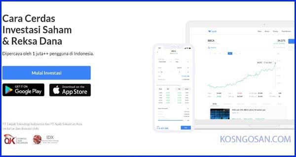 cara investasi aplikasi ajaib
