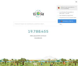 Ricerca Ecosia