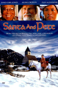 Santa and Pete Poster