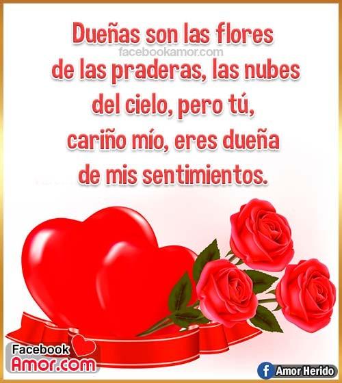 rosas y corazón amor