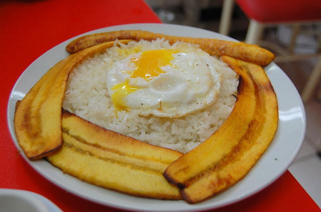 arroz a la cubana receta peruana