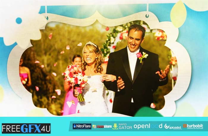 FluxVfx Wedding Photo Tree After Effects Template