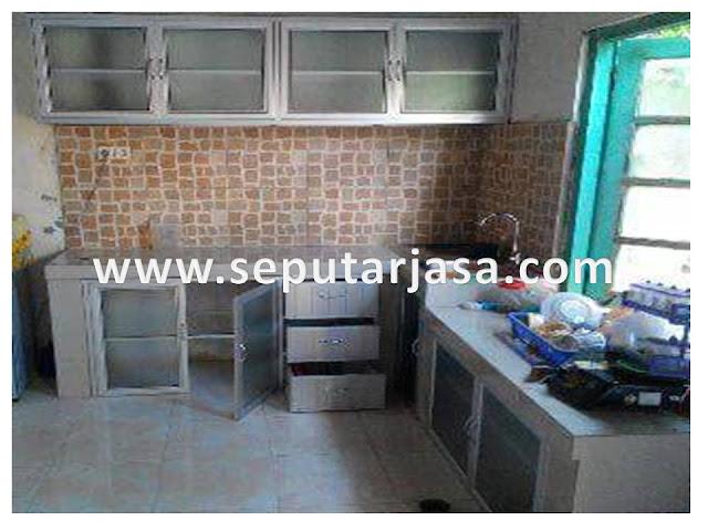 kitchen set aluminium minimalis murah