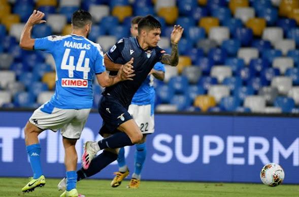 التشكيل الرسمي لمباراة لاتسيو ونابولي اليوم في الدوري الايطالي