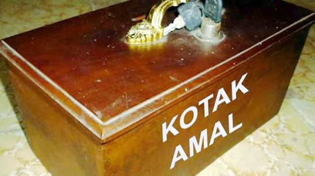 Kisah Maling Uang Kotak Amal Masjid