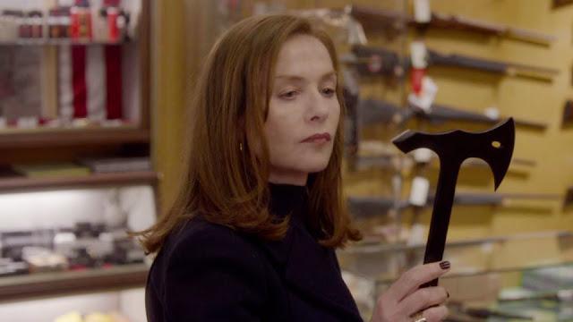 Isabelle Huppert dans Elle, réalisé par Paul Verhoeven (2016)
