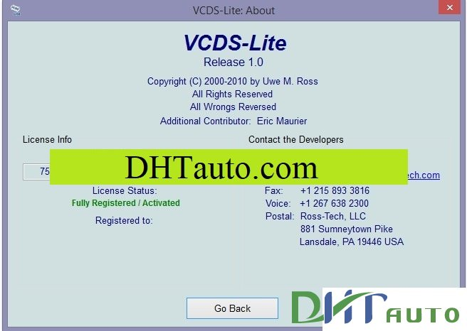 vcds lite 1.2 registration key