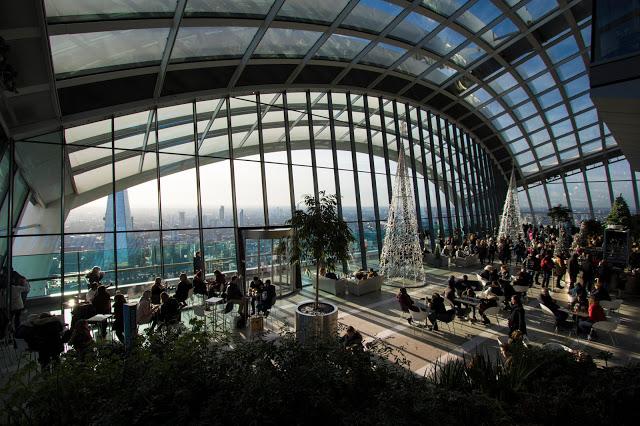Sky garden-Londra