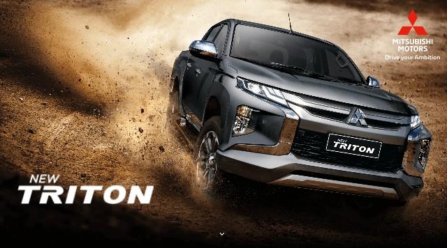 New Triton Mitsubishi Bintaro