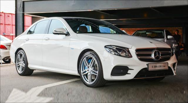 Mercedes E350 lộ diện là phiên bản nhập riêng cho đại sứ quán