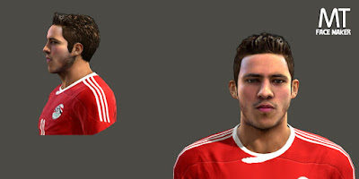 PES 2013 Ramdan Sobhy (Al Ahly) Face by MTFacemaker