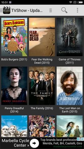 تطبيق MEGABOX HD لمشاهدة أو تحميل أقوى الأفلام على جهازك اندرويد