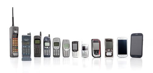 मोबाइल फोन का इतिहास